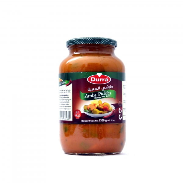 Durra amba pickles (mango mix salad) 1350g